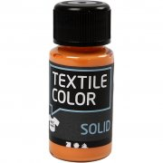 Textil Färg Solid - Orange - 50 ml