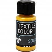 Textil Färg Solid - Gul - 50 ml