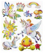 Stickers Fairyworld XXL