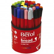 Berol Colourbroad - Mixade Färger - Spets: 1,7 mm -  42 st
