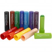Soft Color Stick - 12 st - 6,5 g - L: 8 cm - Mixade färger