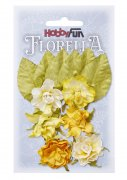 Florella Mullberry Flowers - Gula - 30 mm