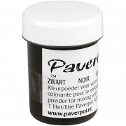 Paver Color - Svart - 40 ml
