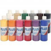Akrylfärg BIG PLUS Color - 12 st x 250 ml