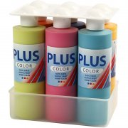 Akrylfärg BIG PLUS Color - 6 st x 250 ml