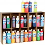 Plus Color Hobbyfärg - 30 x 250 ml - Mixade Färger