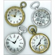3D Stickers Jolees - Vintage Pocket Watches
