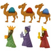 Knappar Figurer - We Three Kings