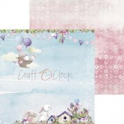 Papper Craft Clock - Spring Bustling 04