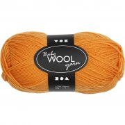 Babygarn - L: 172 m - Orange - NM 14/4  - 50 g