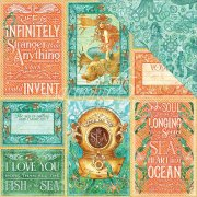 Papper Graphic45 - Voyage Beneath The Sea - Wild, Wild Waves