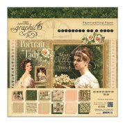 Portrait of a Lady Graphic45 Scrapbooking