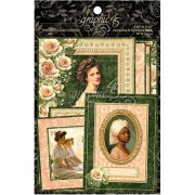 Portrait of A Lady - Ephemera Cards - Graphic45