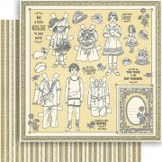 Papper Graphic45 - Penny's Paper Doll Kristinas Scrapbooking