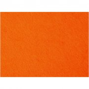 Hobbyfilt - 42x60 cm - Orange - 1 ark