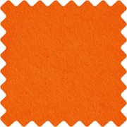 Hobbyfilt - A4 21x30 cm - Orange - 10 ark