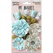 Blommor - Vintage Shades Bouquet - Blue