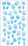 Stickers Sticko - Pastel Baby Boy Prints