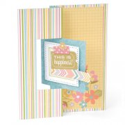 Dies Sizzix Framelits - Square #2 Flip-Its Card