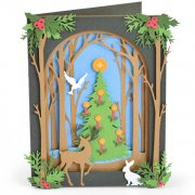 Sizzix Thinlits Dies - Christmas Shadow Box - 20 st