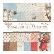 "Paper Pad 36 ark Maja Design 6""x6"" - Home for the Holiday"
