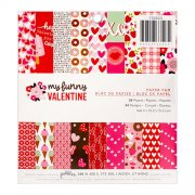 "Paper Pad 6""x6"" - Pebbles - My Funny Valentine"