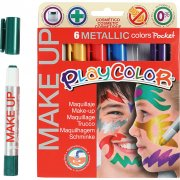 Playcolor Make up - Metallic - 6x5 g
