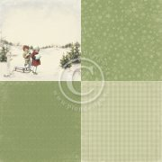 Papper Pion Design - Tree farm - The Night before Christmas - 6x6""