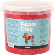 Foam Clay - Röd - 560 g