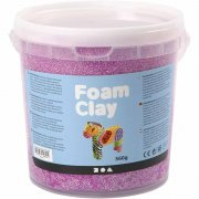 Foam Clay - Neonlila - 560 g