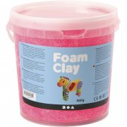 Foam Clay - Neonrosa - 560 g
