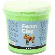 Foam Clay - Neongrön - 560 g