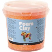 Foam Clay - Neonorange - 560 g