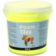 Foam Clay - Neongul - 560 g