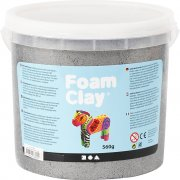 Foam Clay - Silver - Metallic - 560g