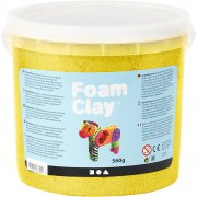 Foam Clay - Gul - Metallic - 560 g
