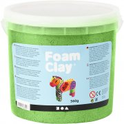 Foam Clay - Grön - Metallic - 560 g