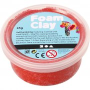 Foam Clay Lera - Röd - 35 g