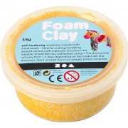 Foam Clay Lera - Gul - 35 g
