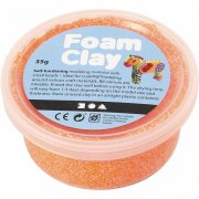 Foam Clay - Neonorange - 35 g
