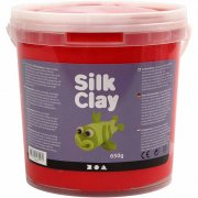 Silk Clay - Röd - 650 g