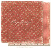 Papper Maja Design - I wish for a holly jolly Christmas