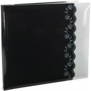 "Album 12""x12"" MBI - Black & White Deco - Post Bound"