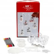 DIY Kit - Julkulor med dekor