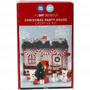 Pysselkit Lera - Christmas Party House