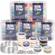 Klass-set till figurer med Silk Clay