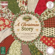 Paper Pad 12x12 - A Christmas Story - First Edition