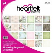 Paper Pad 12x12 - Heartfelt Creations - Flowering Dogwood