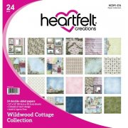 Paper Pad 12x12 - Heartfelt Creations - Wildwood Cottage