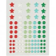 Adhesive Pearls - Party Burst - 95 st